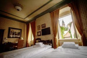 Hotel Latrán pokoje