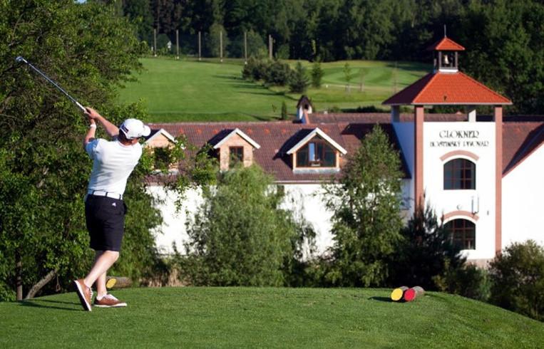 Golf & Český Krumlov - třídenní pobyt